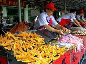 Цены на еду в Китае в 2018 году