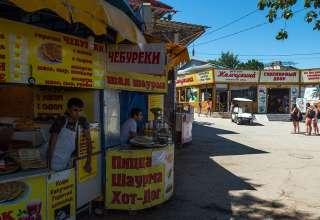 Цены на еду в Крыму 2018