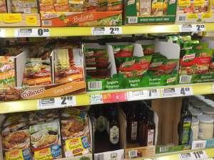 Цены на еду в Польше 2018