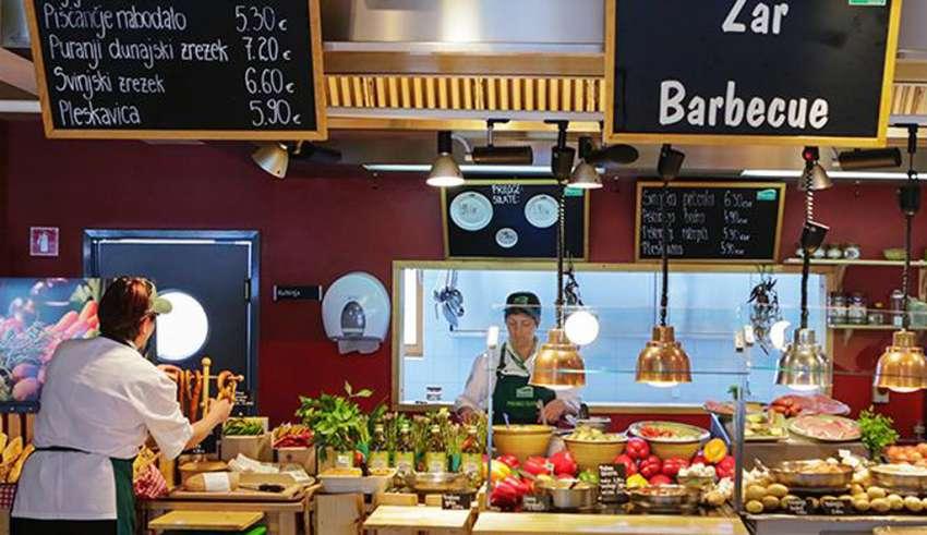 Цены на еду в Словении 2018